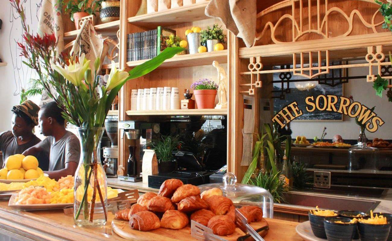 Frühstück im trendigen Hotel in der Kloof Street
