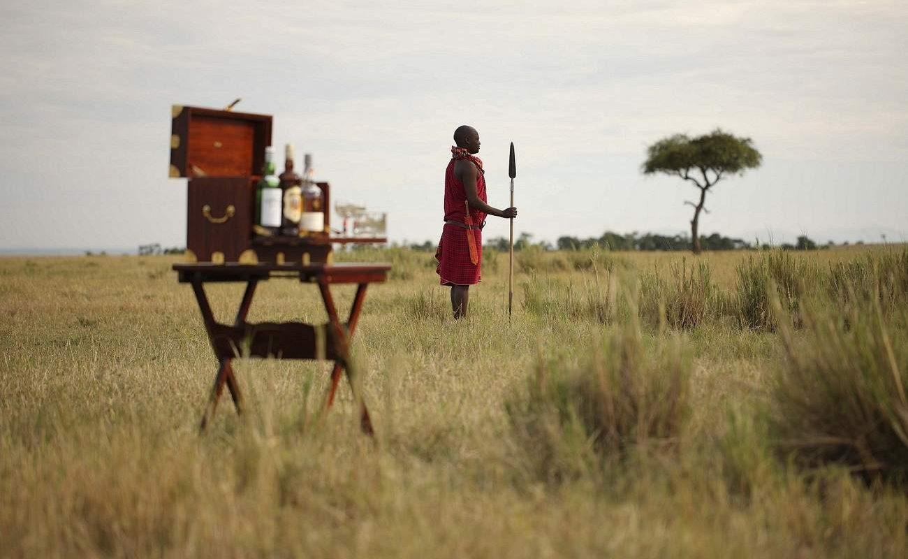 Im Camp von Elewana arbeiten viel Masai