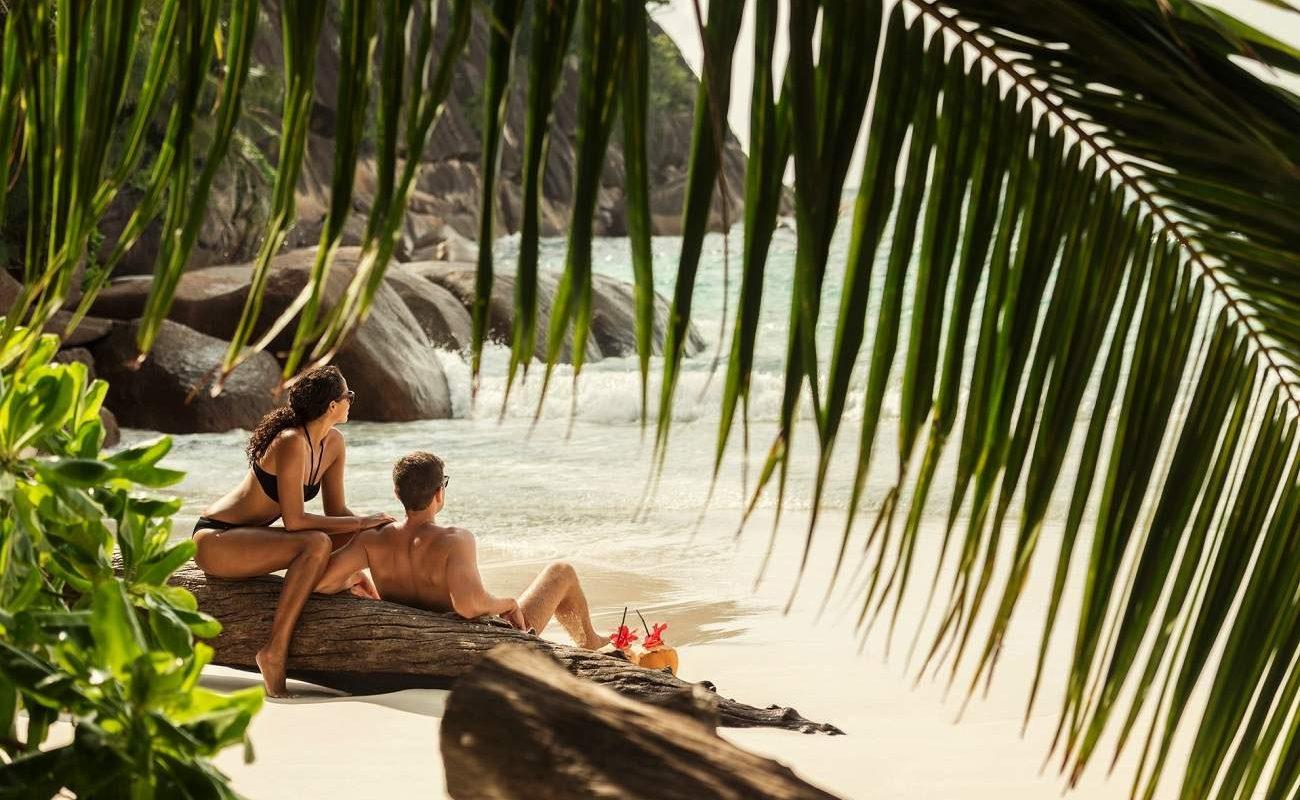 Romantische Stunden am Strand des Four Seasons auf den Seychellen