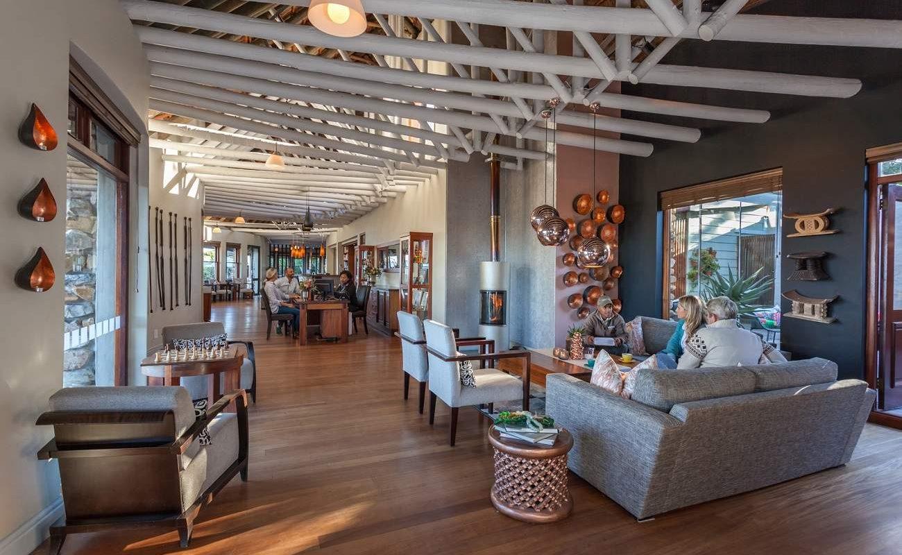 Lounge der Garden Lodge