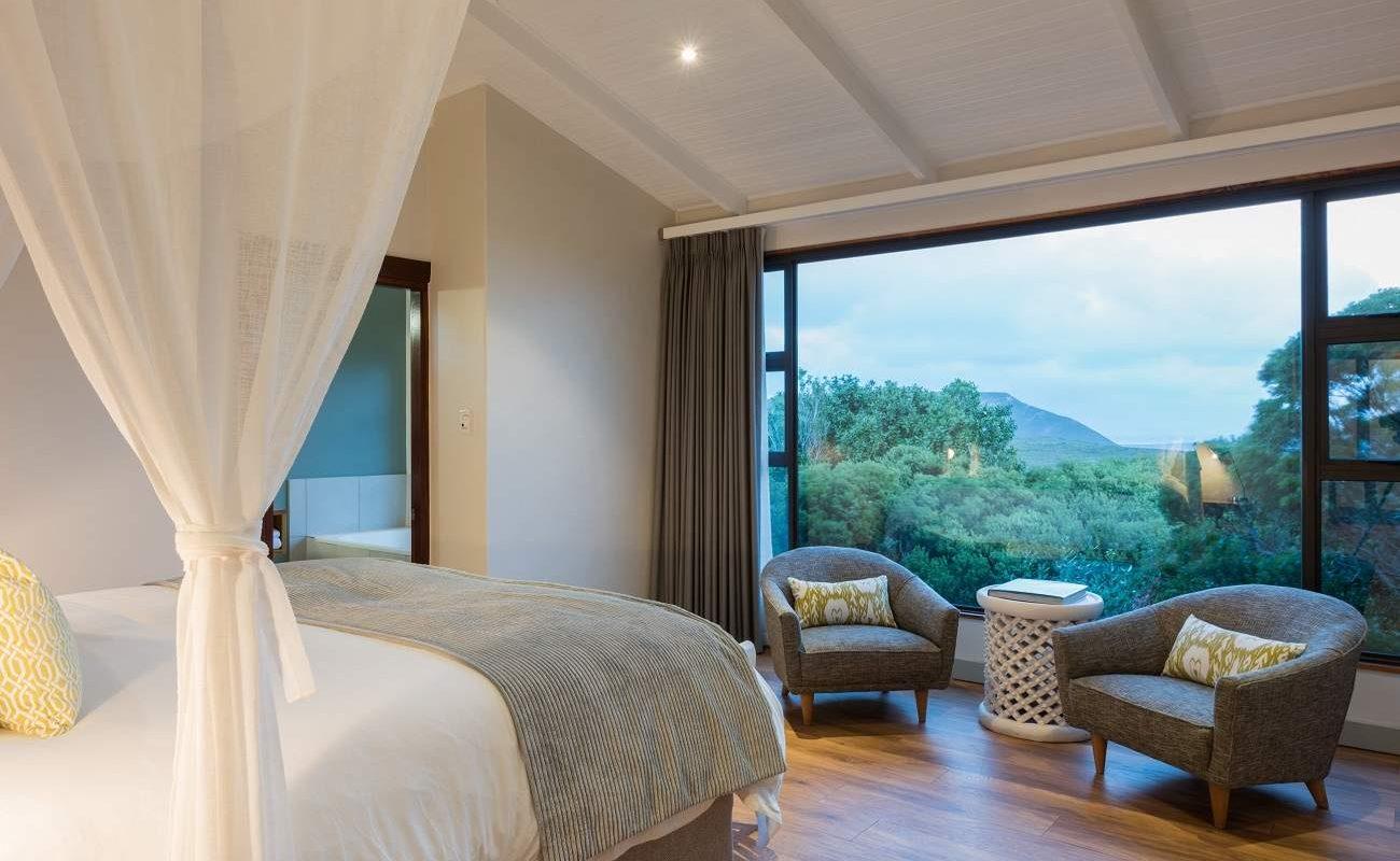 Schlafzimmer einer Suite der Garden Lodge