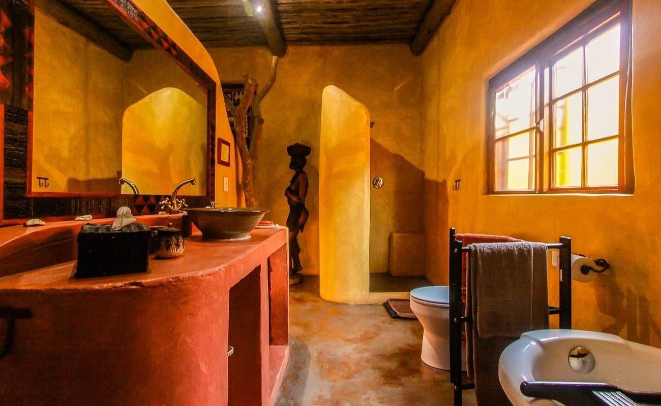 Badezimmer in KwaLucia
