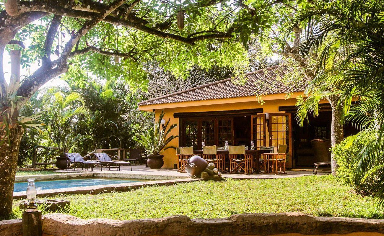 Kwalucia - Garten und Pool
