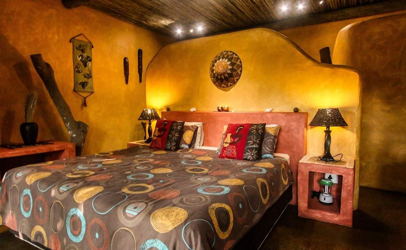 Zimmer 4 im kleinen Guesthouse in St. Lucia