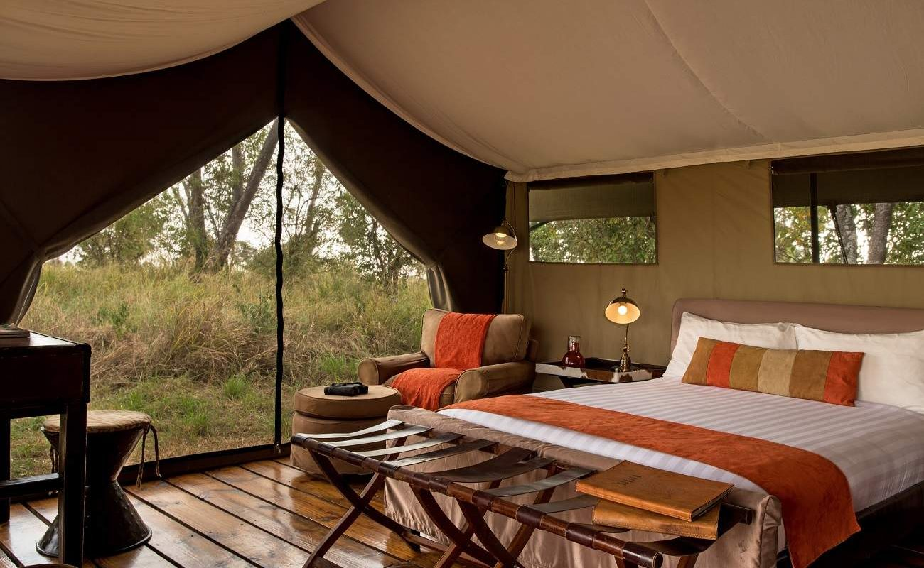 Die rustikalen Luxuszelte sind ideal für ein intensives Safarierlebnis in Tansania