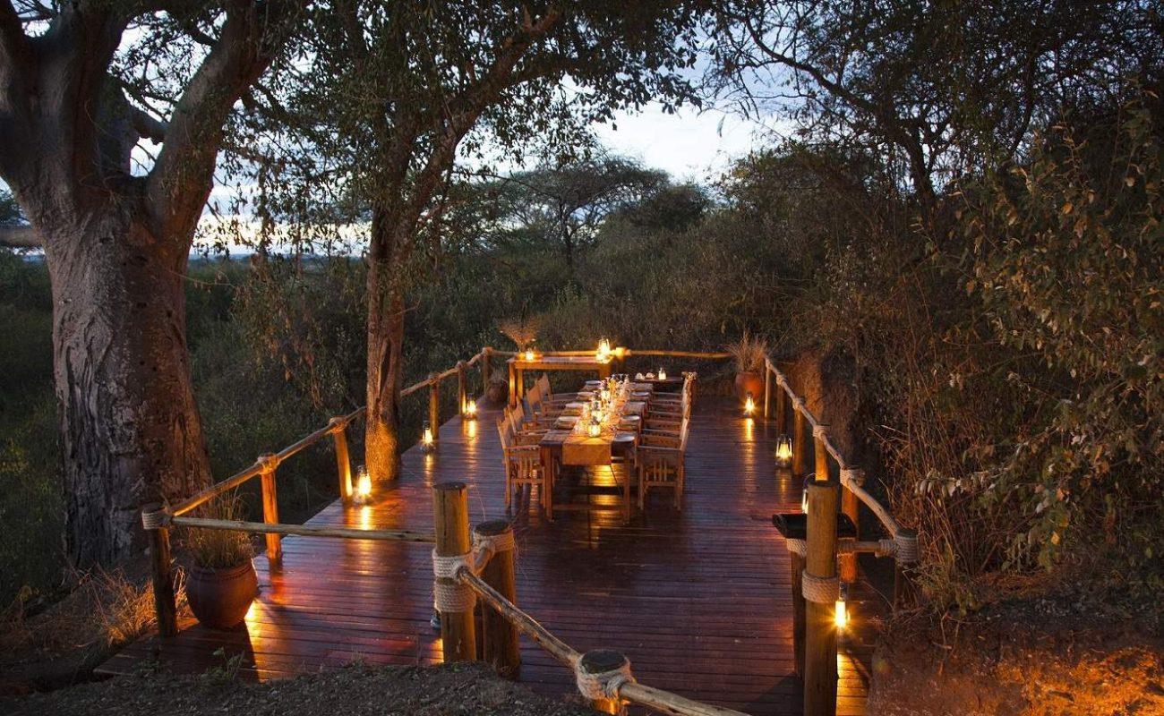 Safariromantik im Tarangire in Tansania