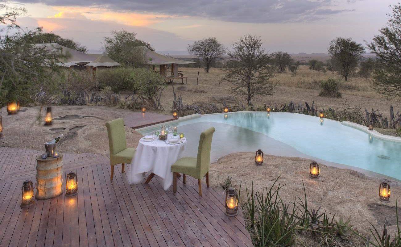 Der herrliche Pool von Sayari im Norden der Serengeti