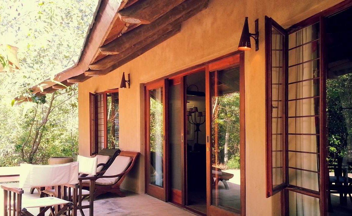 Luxury Chalet von Tanamera – Veranda