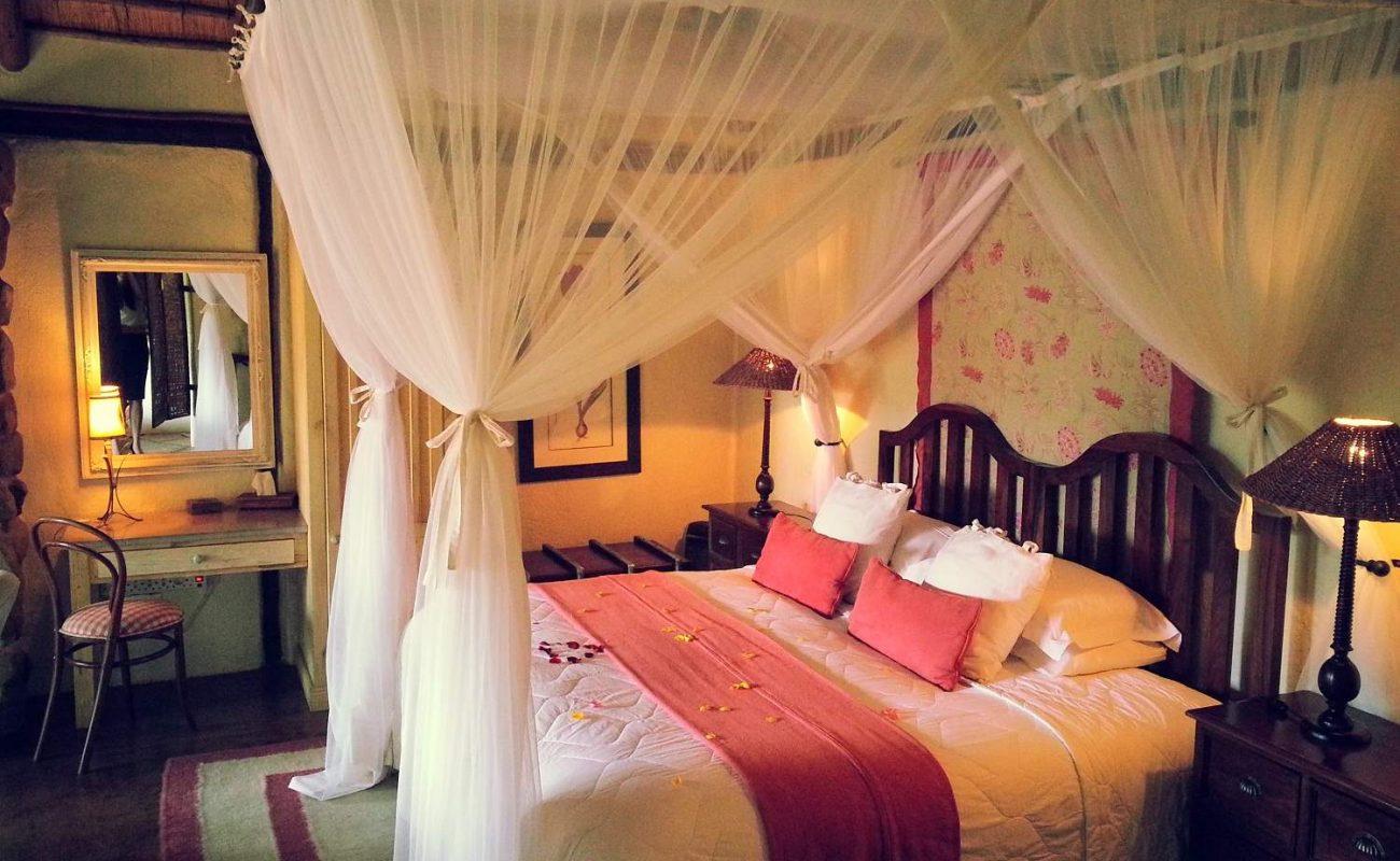 Schlafzimmer des Luxury Chalet von Tana Mera
