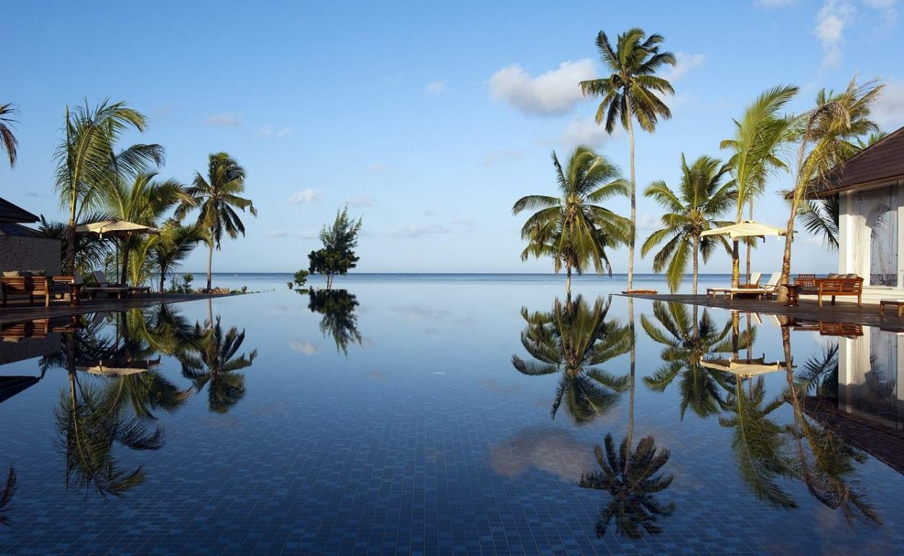 Der schönste Pool auf Sansibar - der Infinity Pool des The Residence Zanzibar