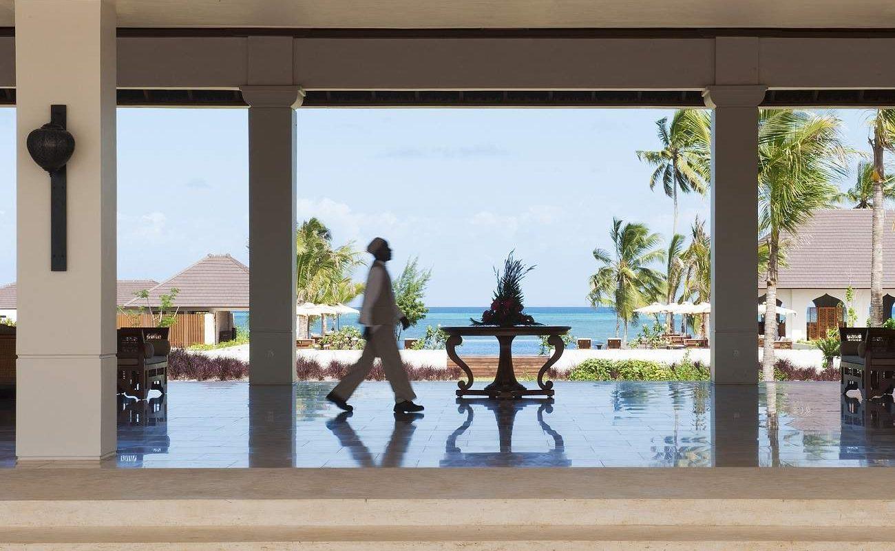 Geschmackvolle Details in der luxuriösen Lobby