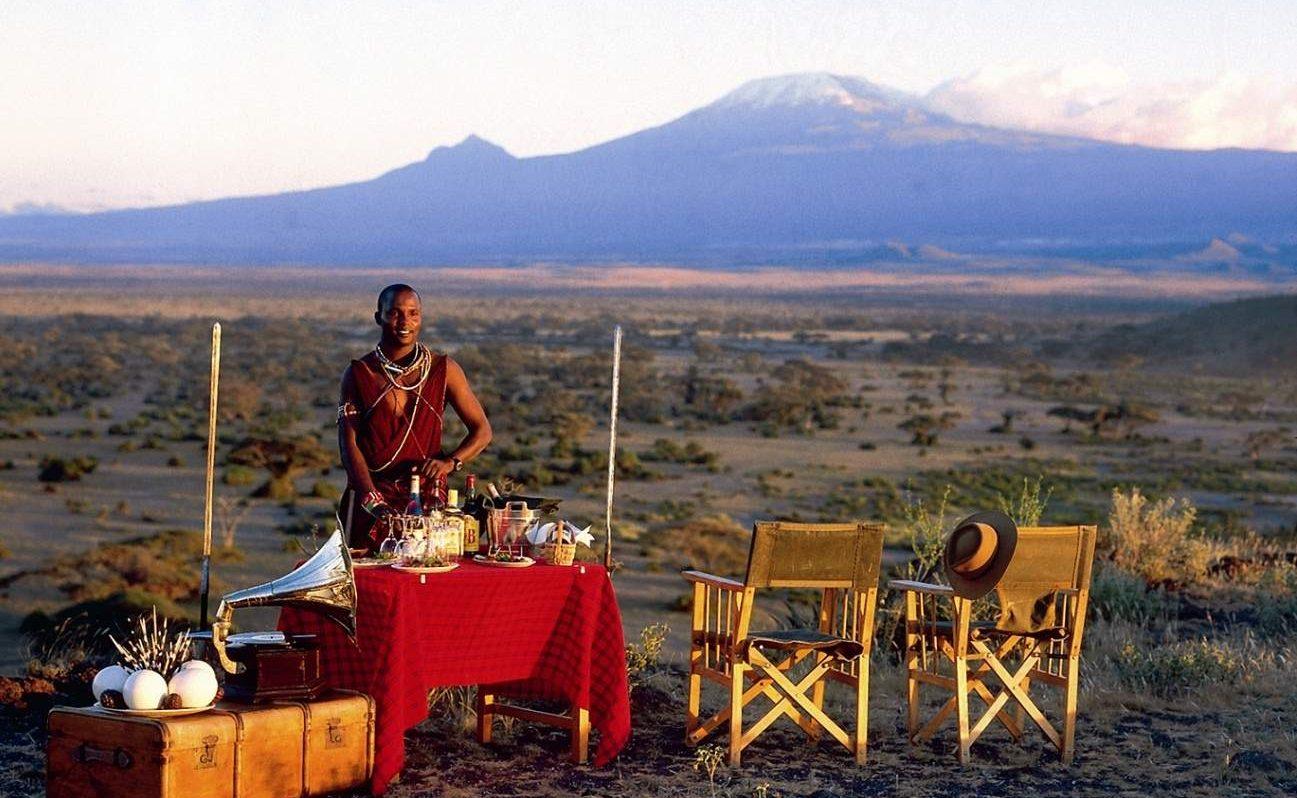 Klassisches Kenia - Masai, Kilimanajaro, Sundowner