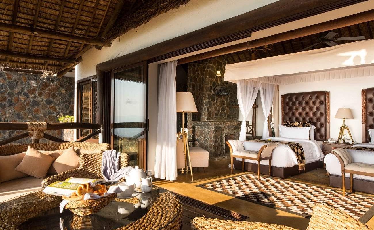 Twin Suite der Lake Manyara Kilimamoja Lodge