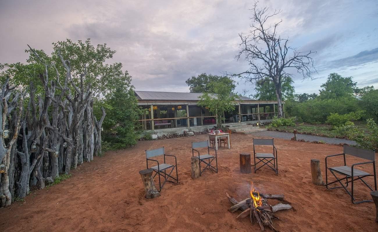 Chobe Elephant Camp Boma