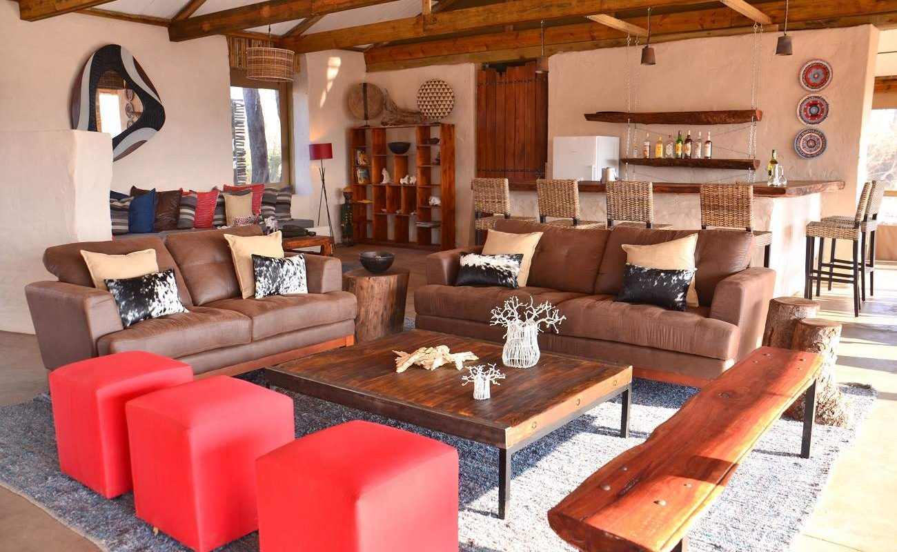 Lounge des Chobe Elephant Camp
