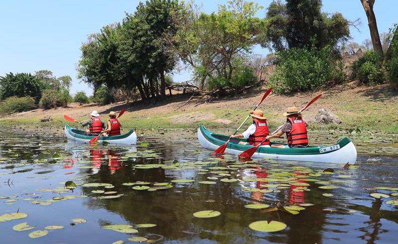 Kanu Tour Chobe River Front