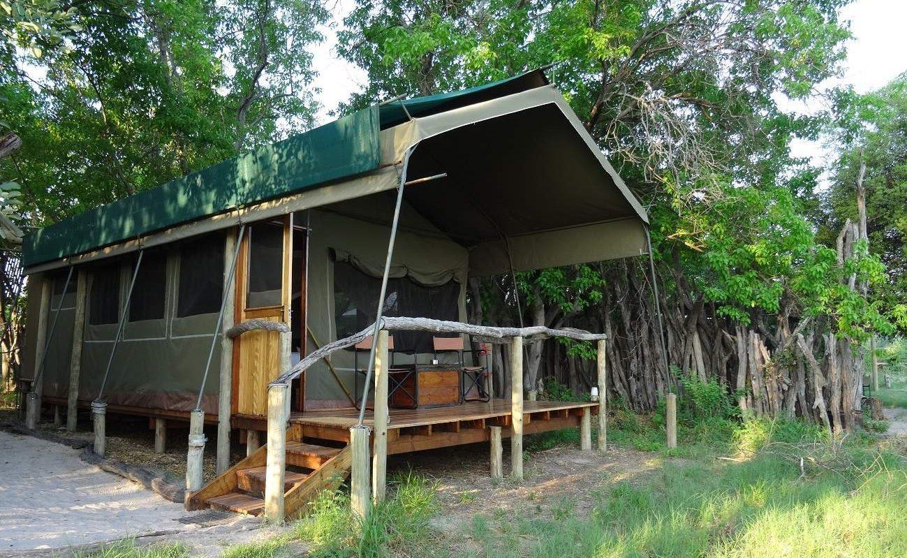 Zelt Sango Safari Camp