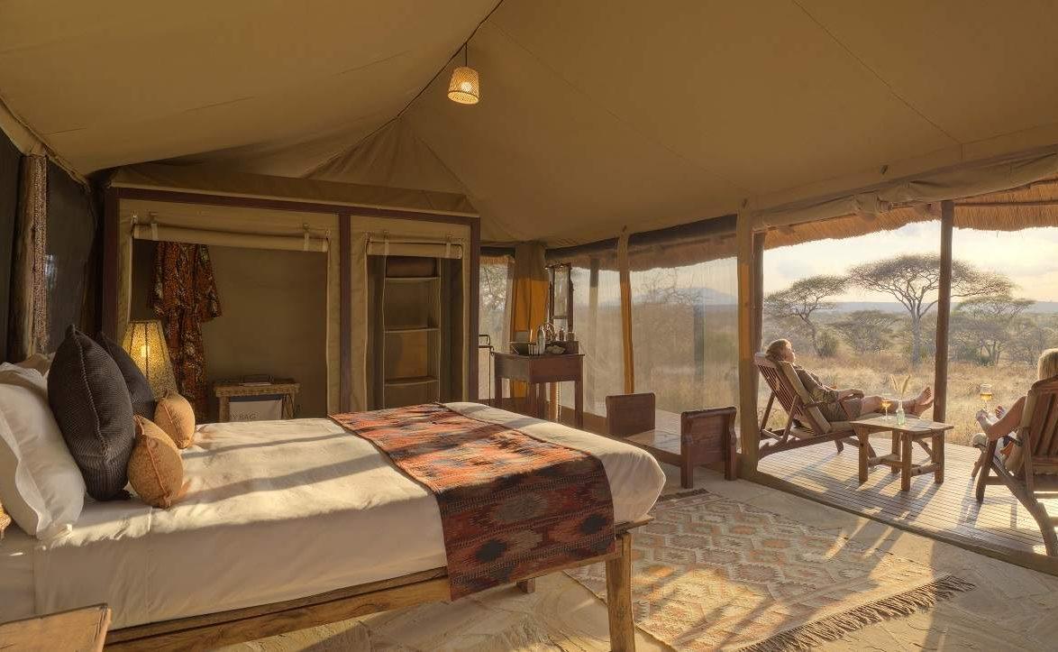 Little Olivers Camp - eine der Unterkünfte der Flugsafari in Tansania