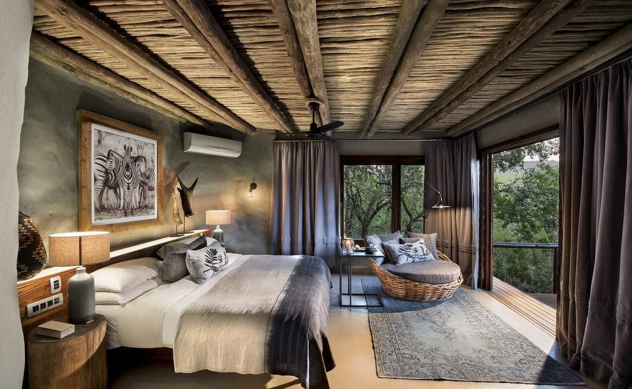 Suite einer Lodge in der Phinda Rock Lodge