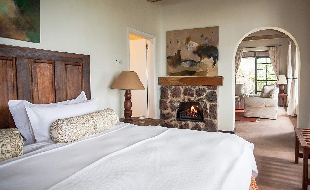 Zimmer in der Clouds Mountain Lodge