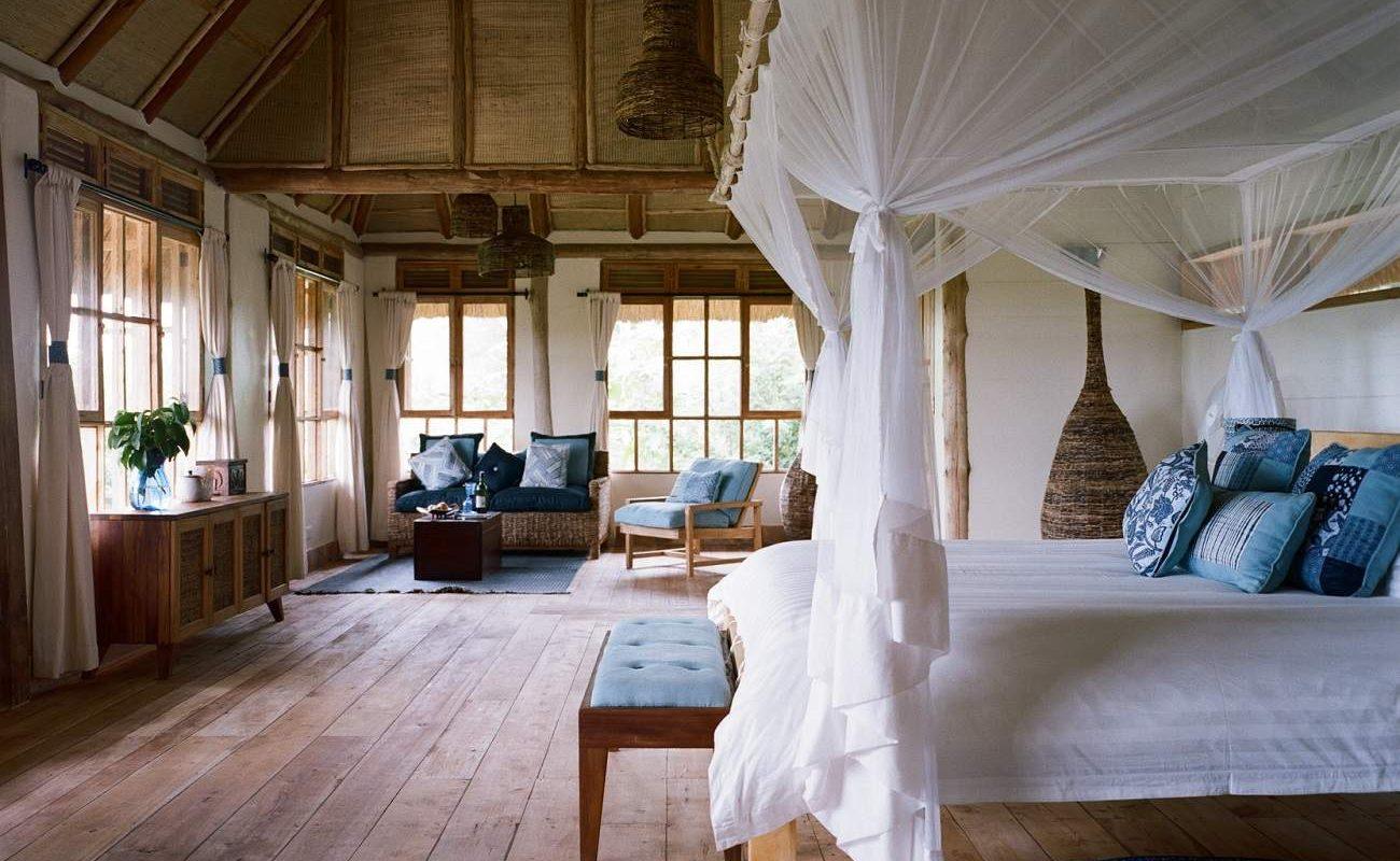 Zimmer in der Kyambura Lodge