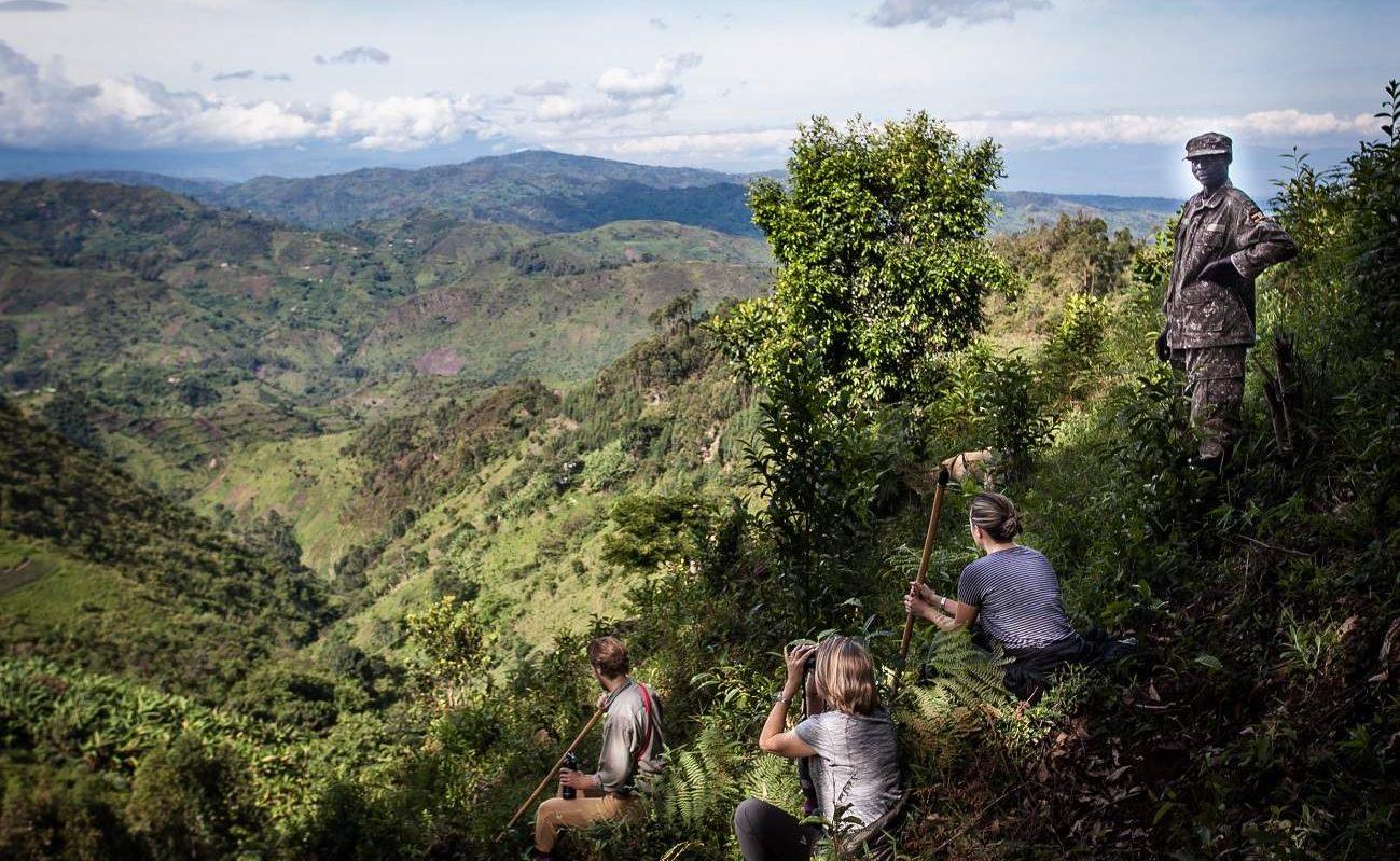 Gorillatrekking im Bwindi, Uganda