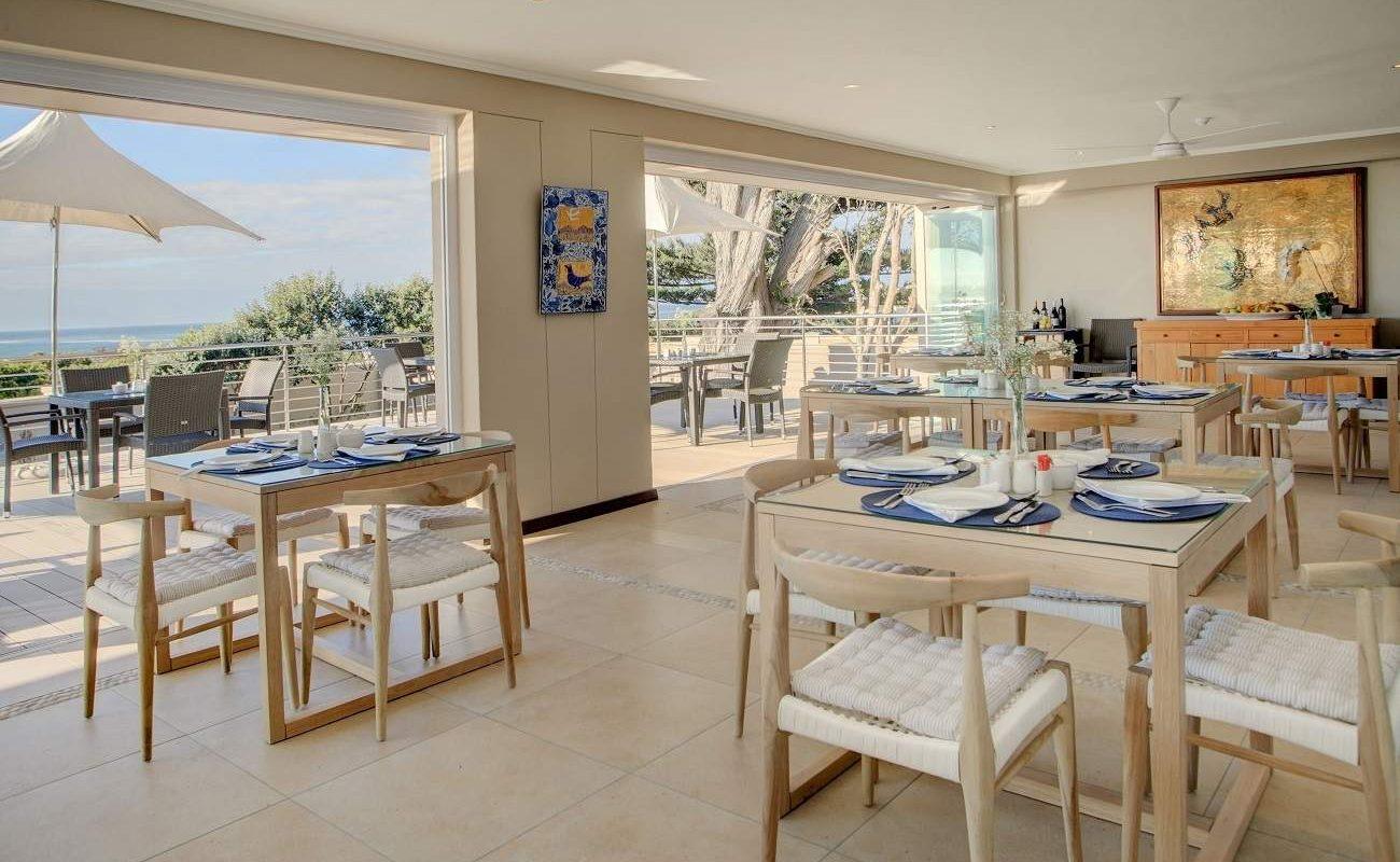 Restaurant der Guest Lodge in Hermanus