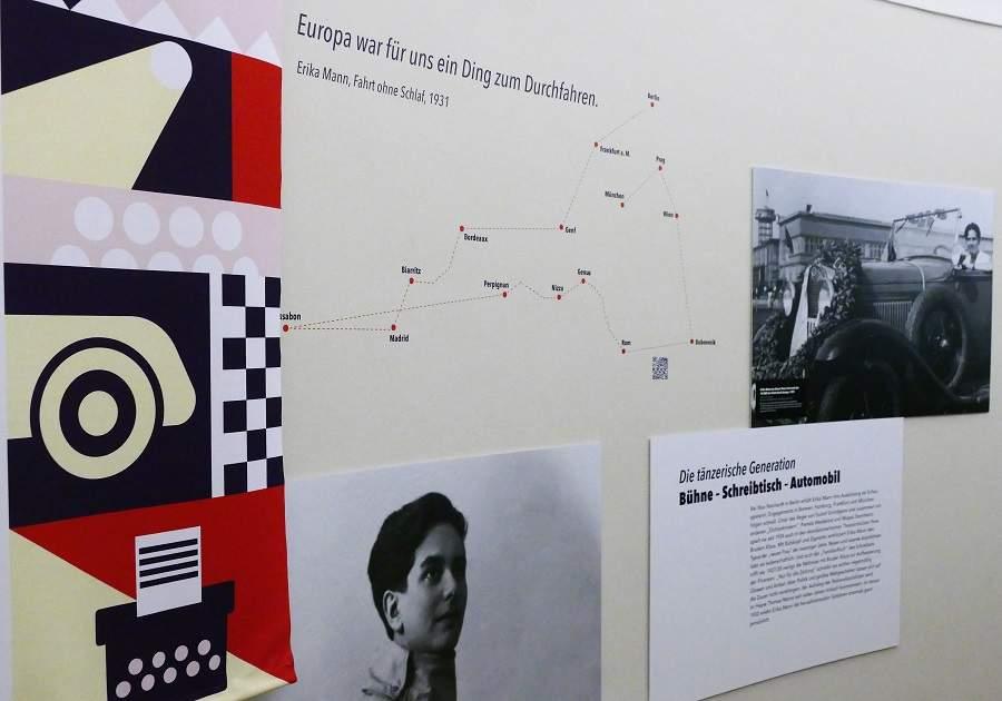 Monacensia Erika Mann Ausstellung