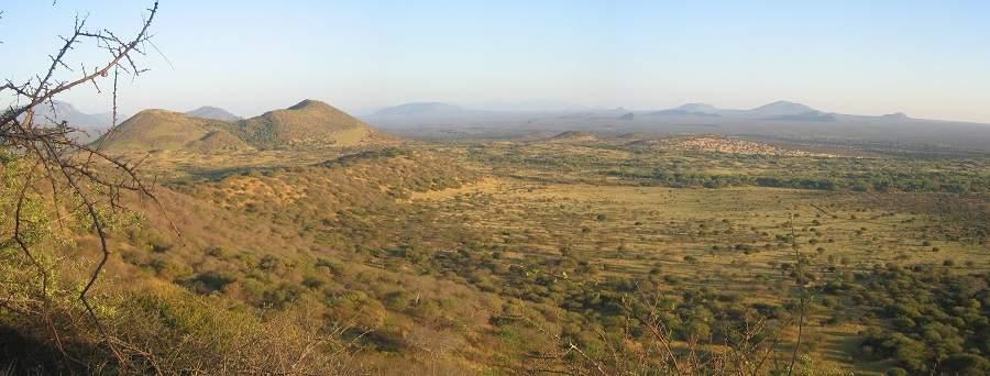 Landschaft des Tsavo West