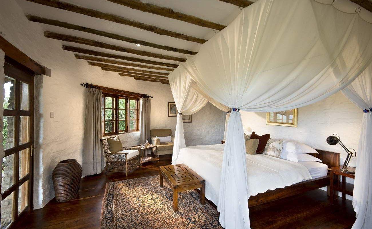 Cottage im Luxuscamp von andBeyond