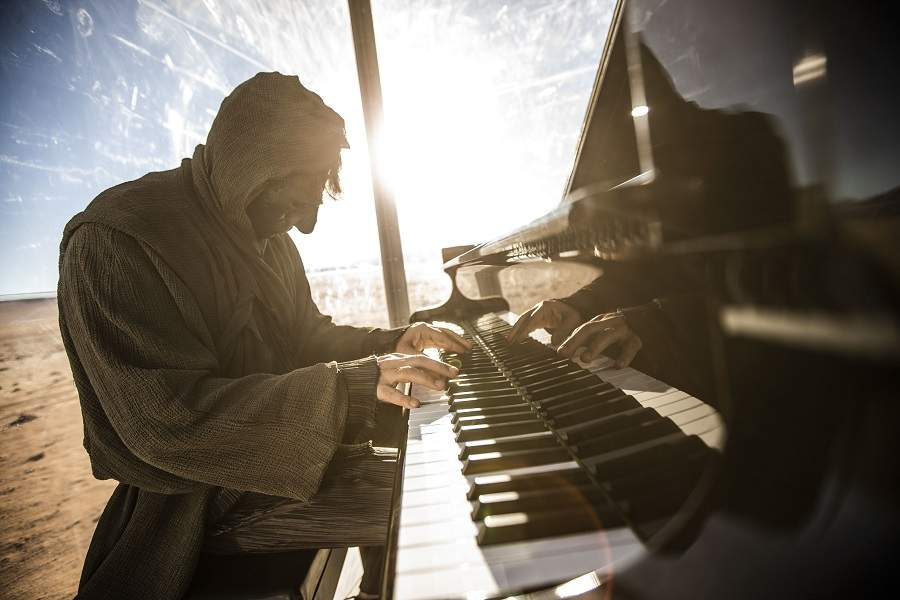 Stranger Klavier Namib Wüstensymphonie