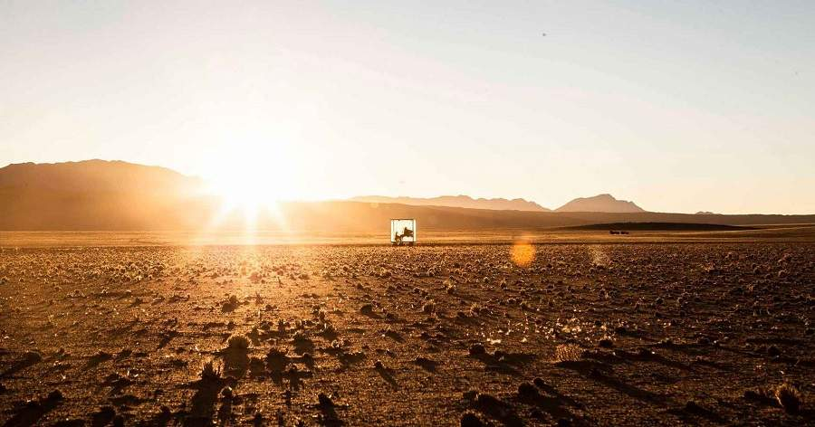 Stranger Kubus Namib Wüste