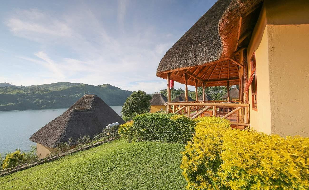 Luxury Chalet der Crater Safari Lodge