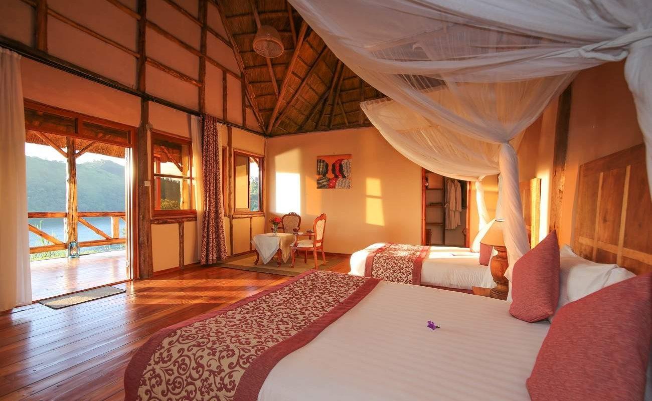Luxury Chalet Crater Safari Lodge