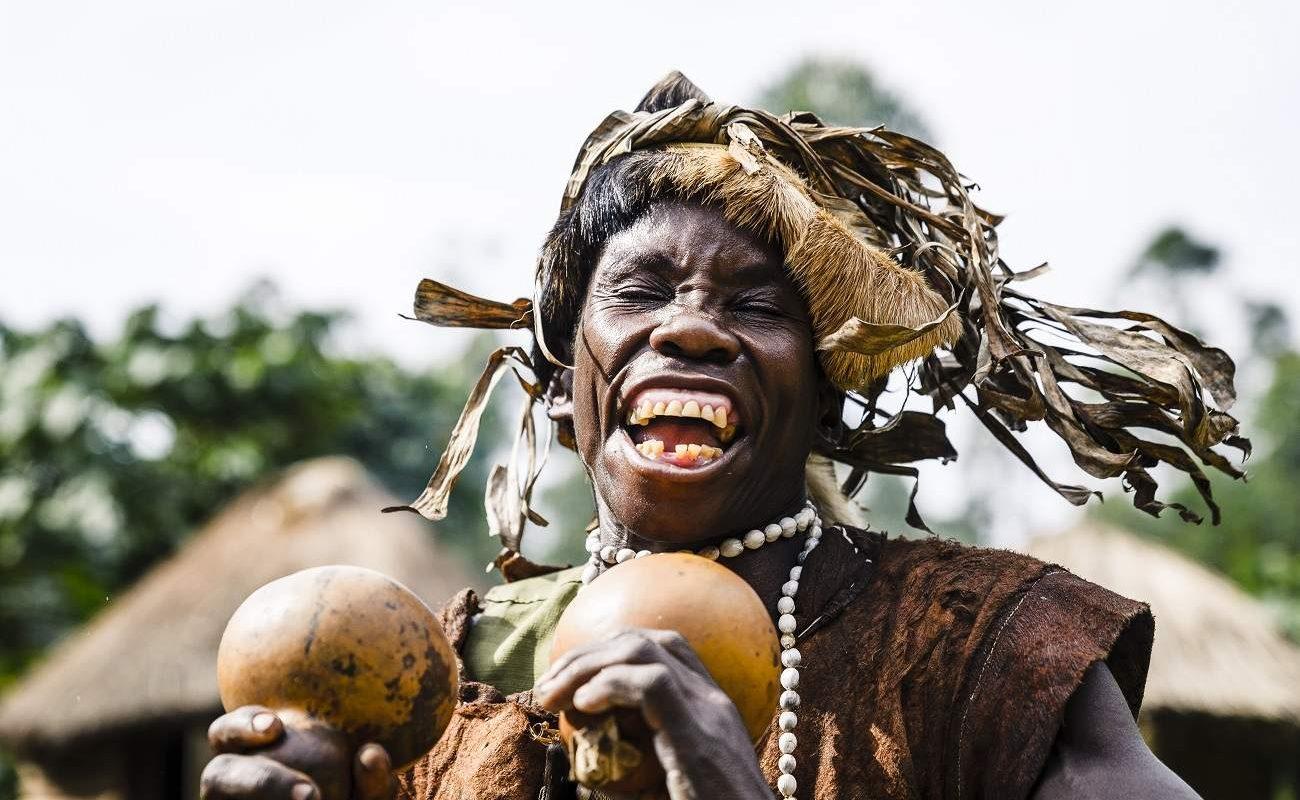Batwa im Bwindi Impenetrable Forest
