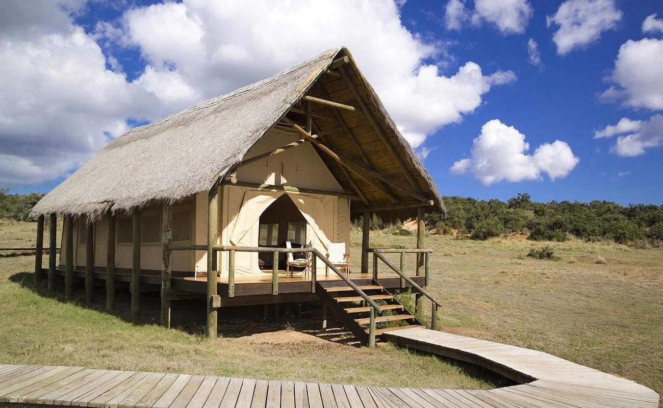 Zelt, Gorah Elephant Camp