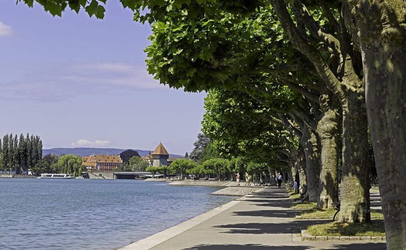 Seepromenade in Konstanz