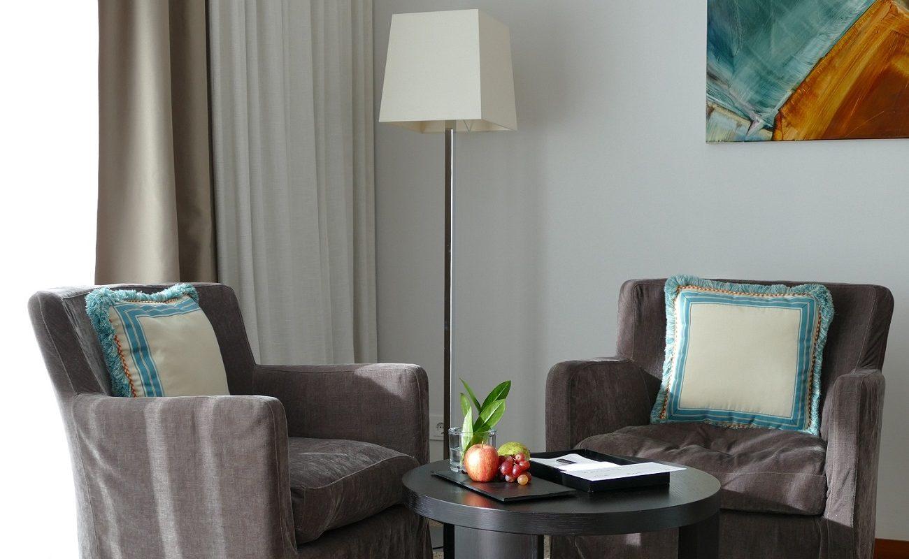 Ein modernes Standard Zimmer im Hotel RIVA