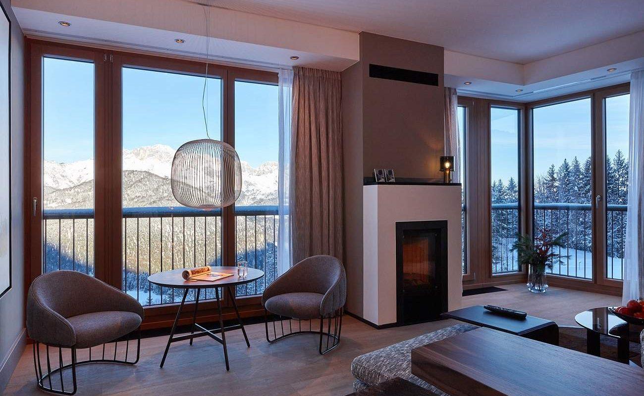 Panorama Suite des Kempinski Hotel Berchtesgaden