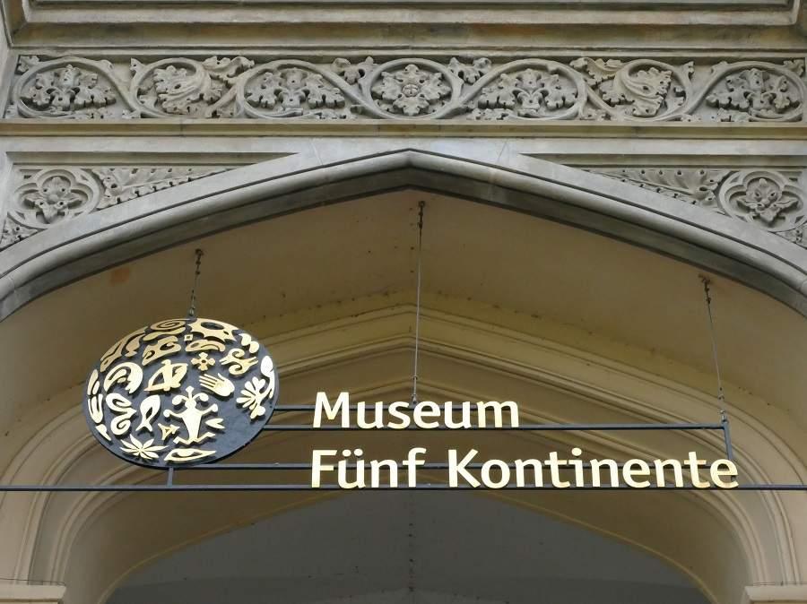 Museum Fünf Kontinente Eingang