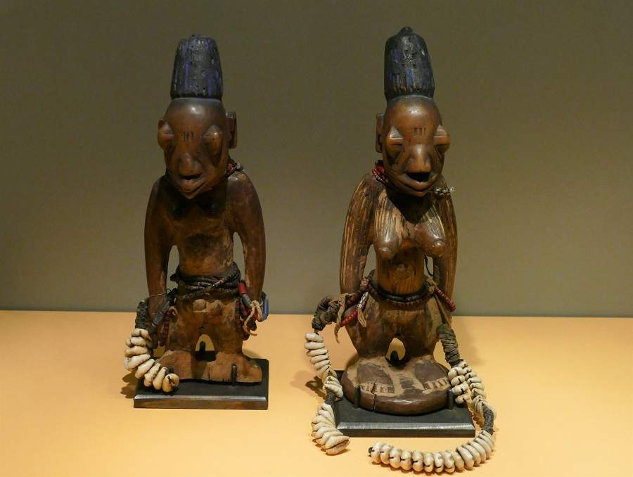 Zwillingsfiguren Ibedji