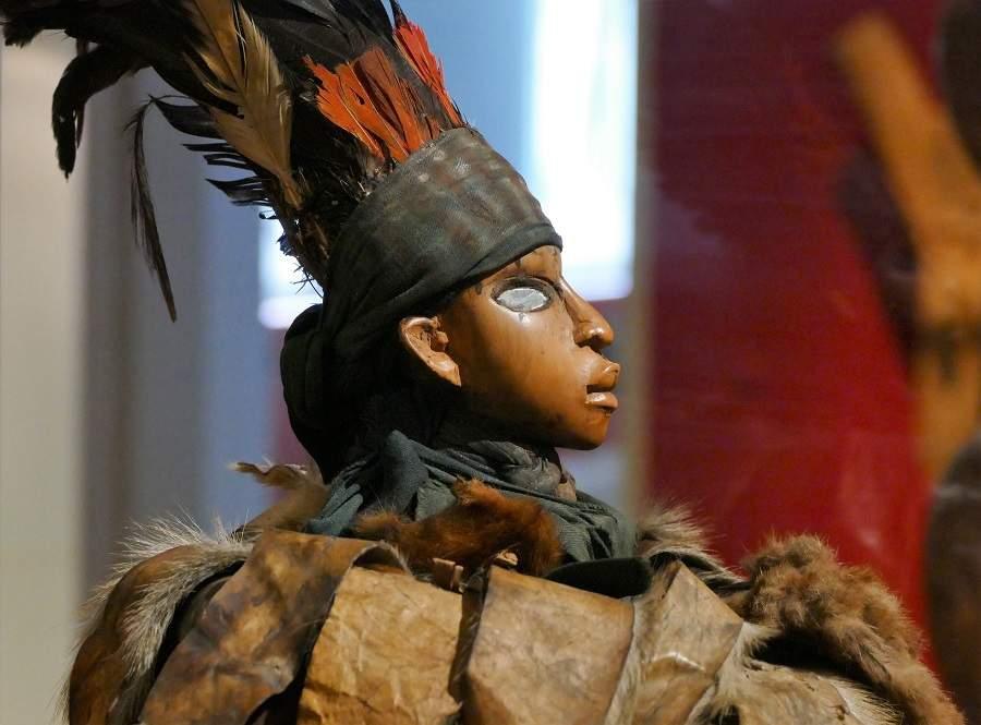 Spiegelfigur aus dem Kongo