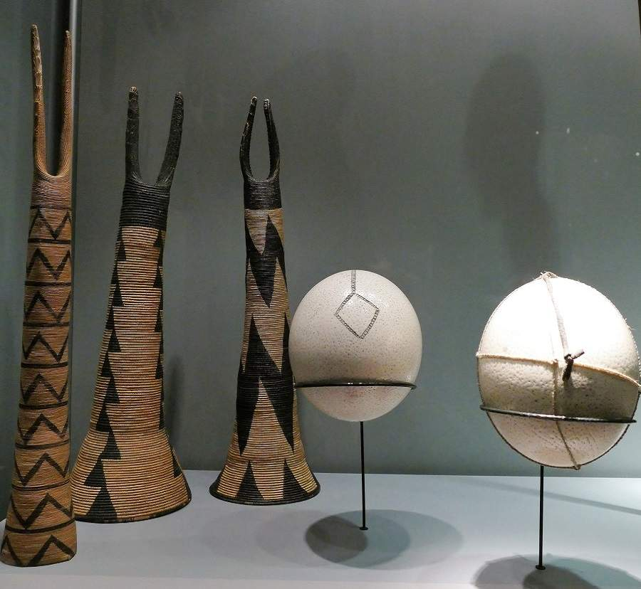 Straußeneier San Museum Fünf Kontinente