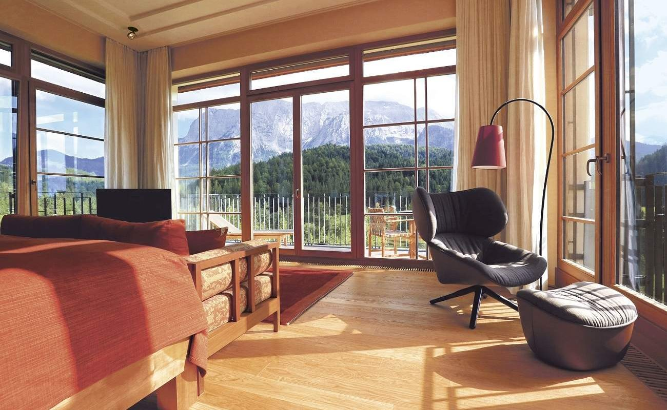 Tower Suite im Retreat des Schloss Elmau