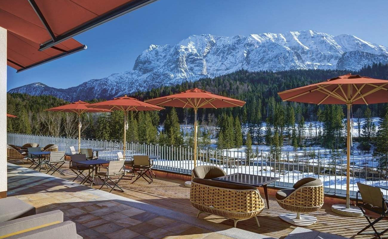 Schloss Elmau Terrasse Retreat