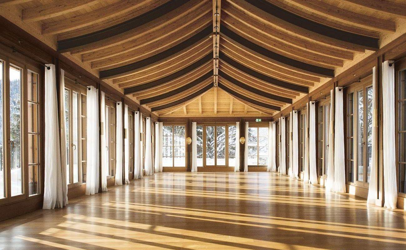 Schloss Elmau Yoga Pavillon