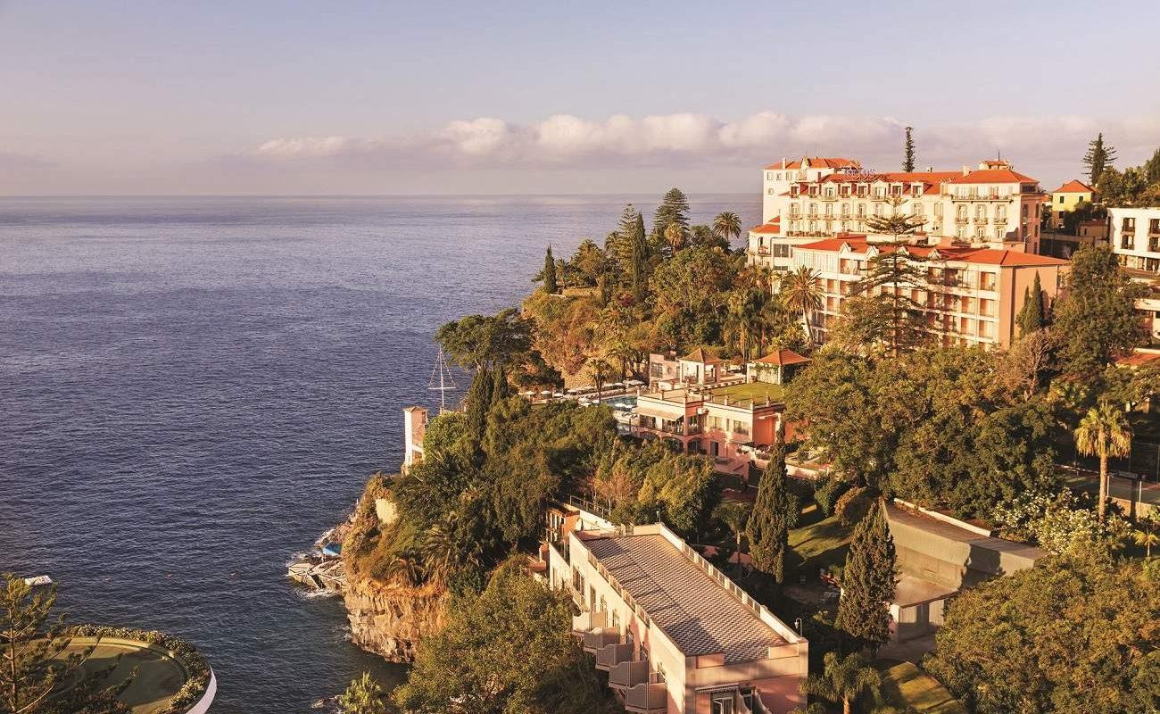 Abendstimmung im Reid's Palace auf Madeira