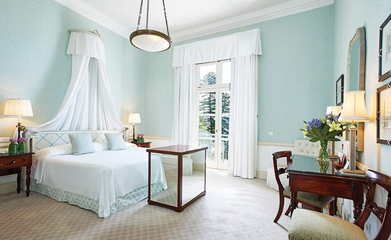 Ein elegantes Zimmer im Reid's Palace