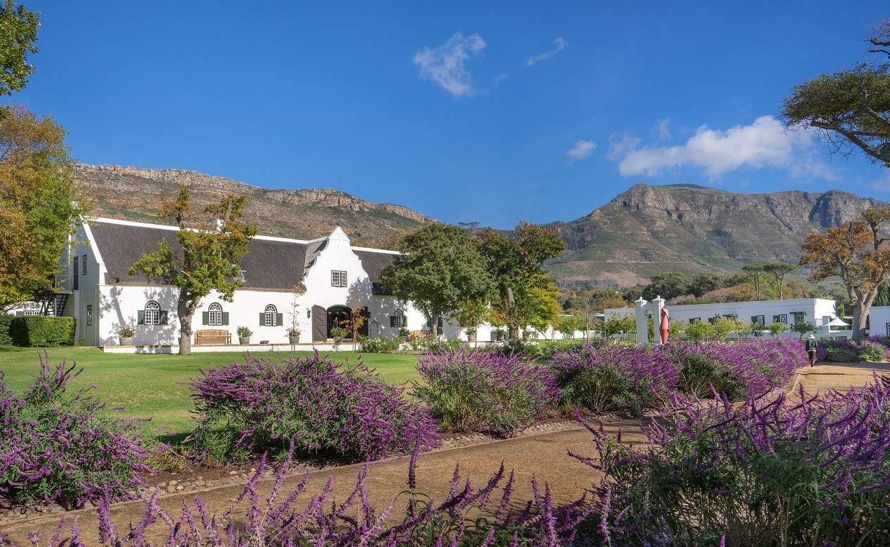 Das Luxushotel Steenberg in den Winelands von Südafrika