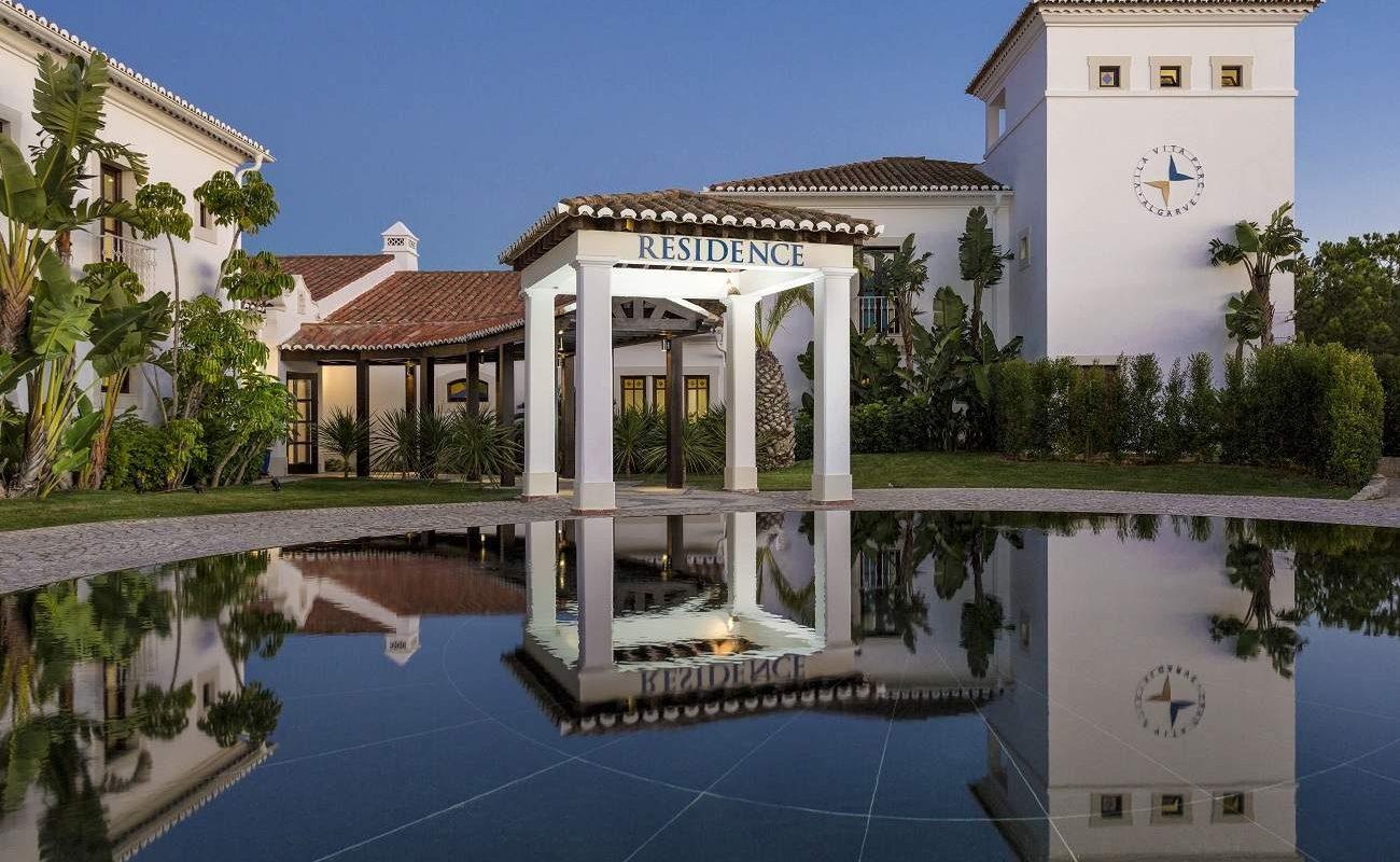 Eingang Residence im Vila Vita